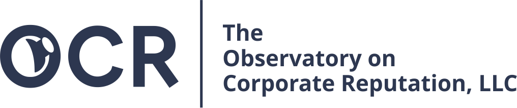 The Observatory on Corporate Reputation